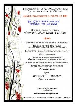 R veillon de la saint sylvestre ville de saint gilles gard site officiel - Idee repas reveillon 31 decembre ...